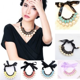 Korean-Ribbon-False-Collar-Ribbon-Crystal-Beads-Fashion-_005